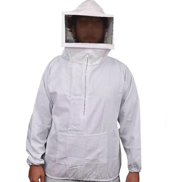 imagem apicultor jaleco branco
