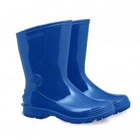 Galocha bota Capataz azul_cano curto arkuero para chuva impermeavel