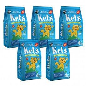 produto kets 4kg com 5