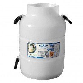 latao leite Plastico vasilhame ordenha 40L Unipac