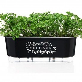 jardineira raiz preta planar cultivar temperar