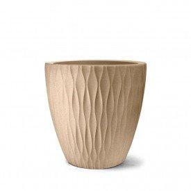 vaso infinity redondo areia