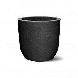 vaso grafiato redondo preto
