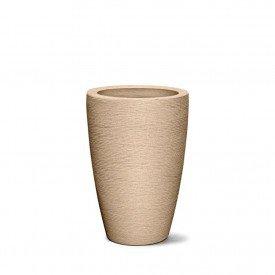 vaso grafiato co nico areia