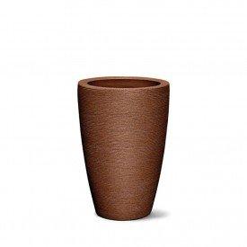 vaso grafiato co nico ferrugem