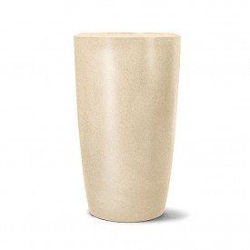 vaso classic conico areia