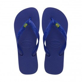 chinelos sandalia havaianas brasil azul