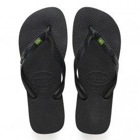 chinelos sandalia havaianas brasil preto preta