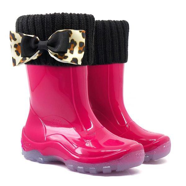 bota balocha infantil com polaina preta lac o kids spl pink verde lila s3