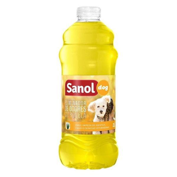 eliminador de odores sanol dog citronela 2l d nq np 742687 mlb31191323705 062019 f