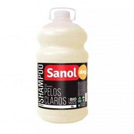shampoo pelos claros 5l sanol