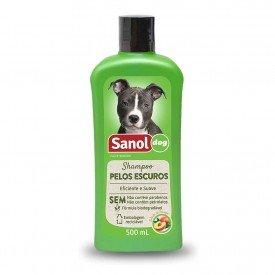 shampoo pelos escuros sanol