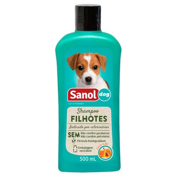 shampoo sanol filhote