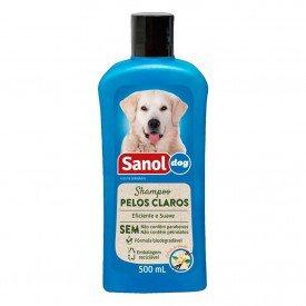 Sanol Shampoo Pelos Claros