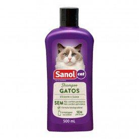 shampoo sanol gato