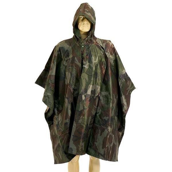 poncho camuflado capa chuva 1