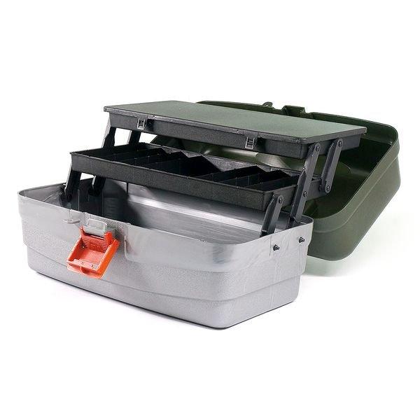 caixa organizadora pesca maleta camping belli 27