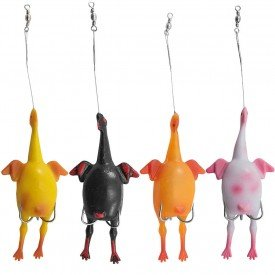 4058_3 frango passarinho filhote isca artificial