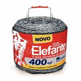 Arame farpado gerdau elefante 400m 400kgf mais resistente novo Rolo Arkuero