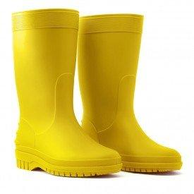 galocha bota infantil teen jovem amarelo amarela arkuero kid splash borracha impermeavel