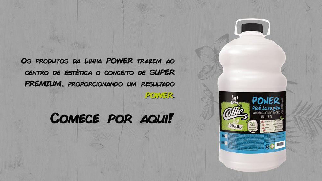 collie produtos linha power alta performance pets dog cachorro arkuero shampoo condicionador 1