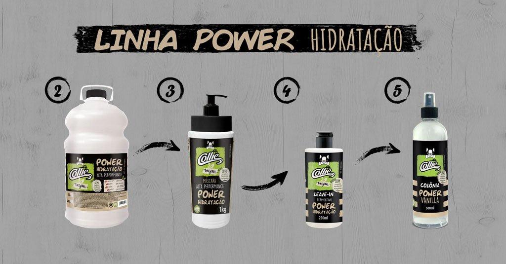 collie produtos linha power alta performance pets dog cachorro arkuero shampoo condicionador 3