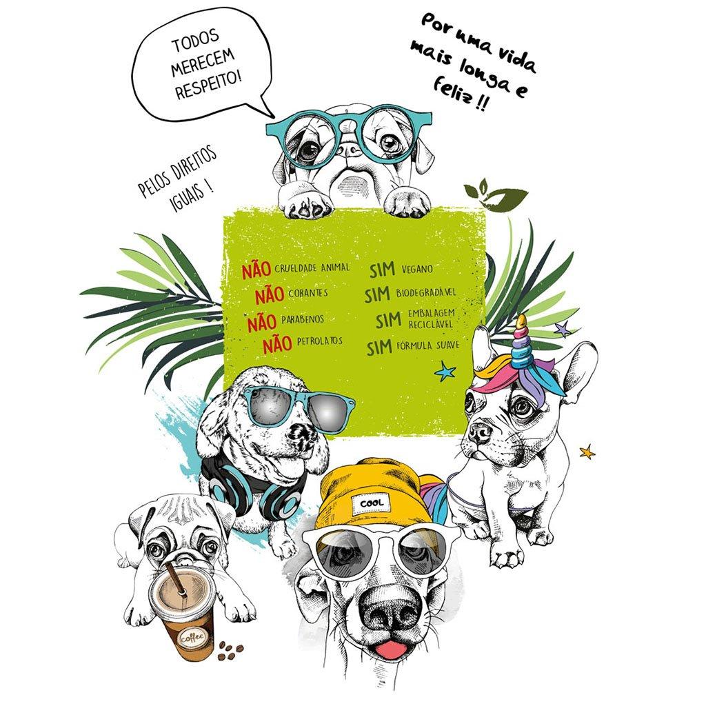 collie produtos linha power alta performance pets dog cachorro arkuero shampoo condicionador 20