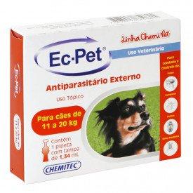 Ec Pet 134 mL Laboratorio Animais Chemitec Arkuero