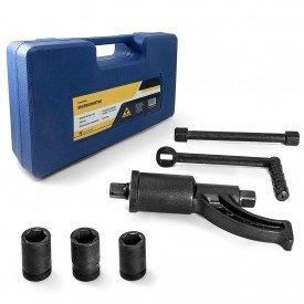 desforcimetro torqueador 580kg roda de caminhao 158 com 2 soquetes 32 e 33 27 17 arkuero 2